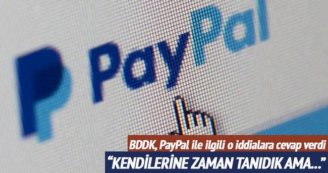 PayPal'ın lisans başvurusu kanuna uygun değildi