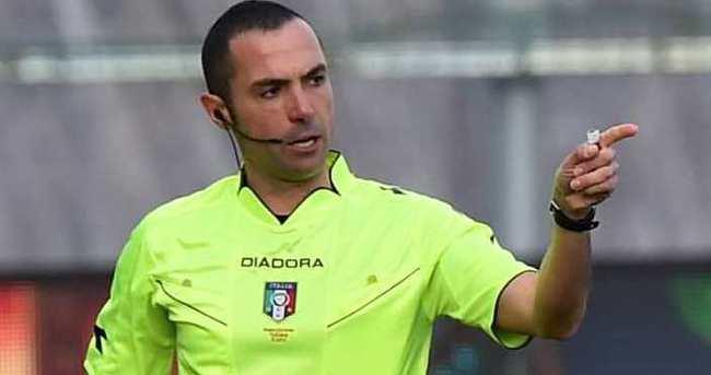 Slovenya - Türkiye maçına İtalyan hakem