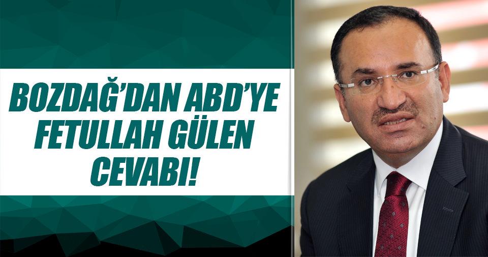 Türkiye'den ABD'ye 'Fethullah Gülen' cevabı!