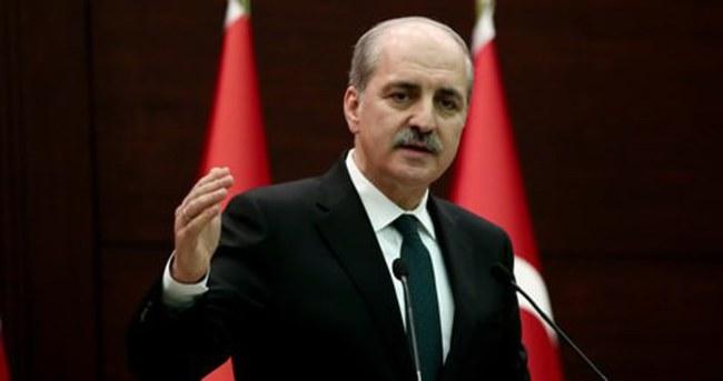 Numan Kurtulmuş : Türkiye için bu karar yok hükmündedir