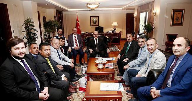 Başbakan Yardımcısı Kurtulmuş AYD üyelerini kabul etti