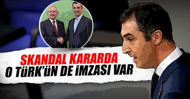 Skandal kararda Cem Özdemir'in de imzası var