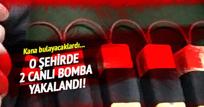Mardin'de 'canlı bomba' olarak aranan 2 kişi yakalandı