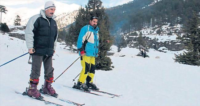 Kızgın kumlardan kayak pistlerine
