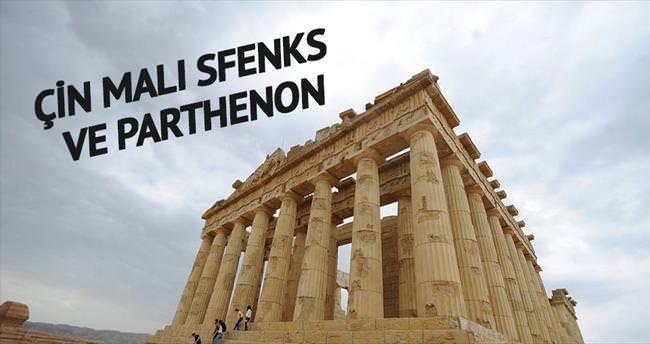 Çin malı sfenks ve Parthenon!