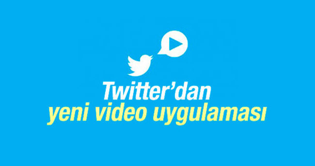 Twitter'dan yeni video uygulamsı
