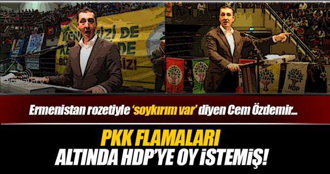 Cem Özdemir HDP ile kol kola!