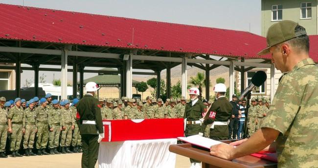 Nusaybin şehidi Astsubay Arif Çakır'a uğurlama töreni