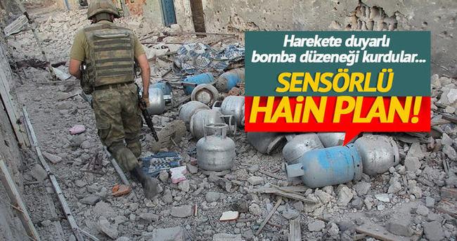 Teröristlerden Mehmetçiğe hain tuzak