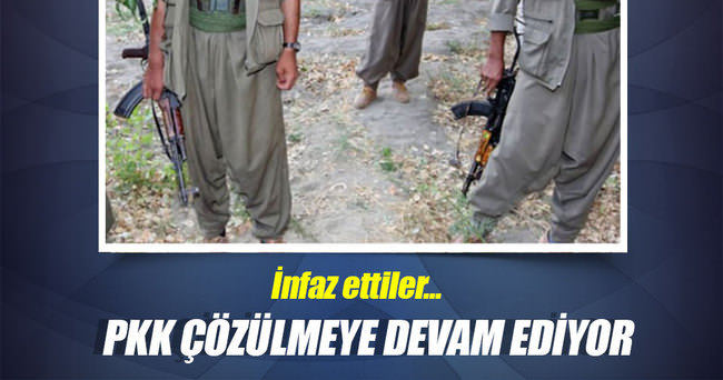 PKK, ajanlıkla suçladığı 3 teröristi infaz etti