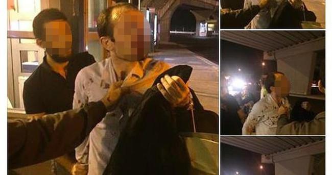 Metrobüste genç kadını taciz eden adam feci şekilde dövüldü