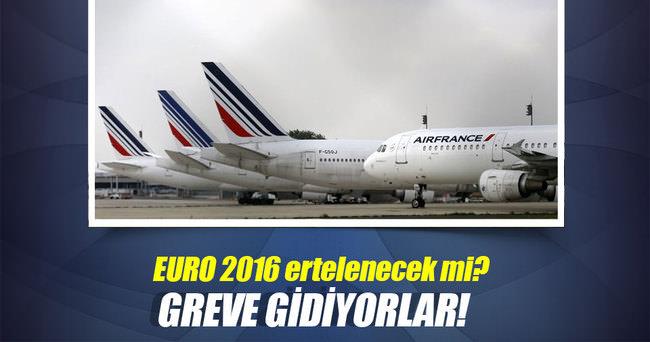 Air France'tan Euro 2016'nın ilk haftasında grev çağrısı