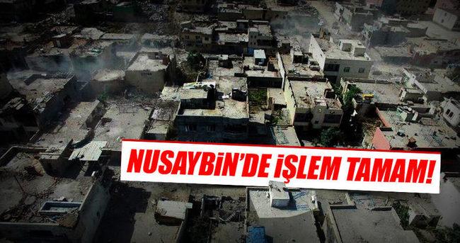 Nusaybin'de operasyon bitti