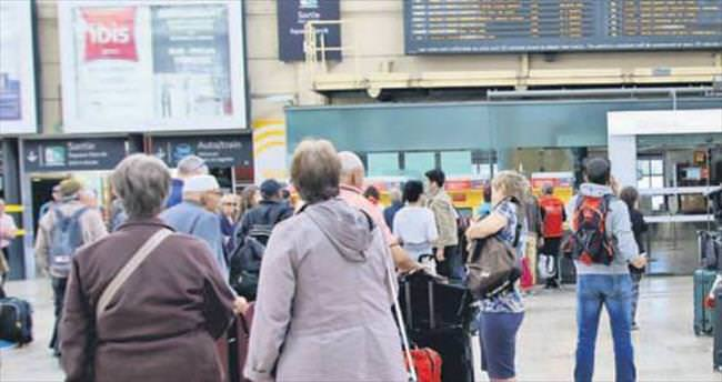 Avrupa baharı Türk turisti korkuttu