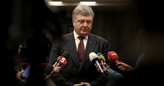 Poroşenko:  Kırım Tatar halkına güvenmek gerekir