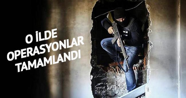 Şırnak'ta operasyonlar tamamlandı