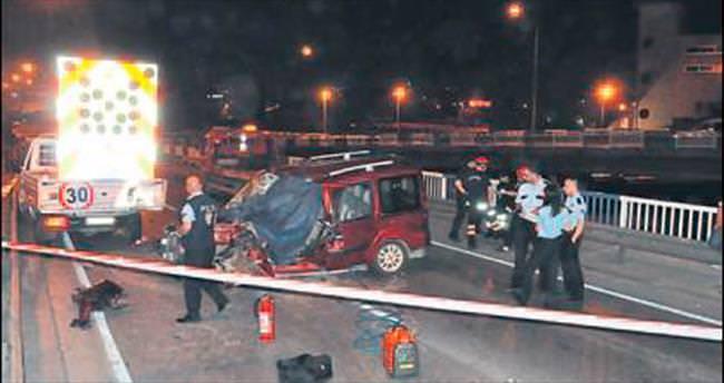 Konak'ta trafik kazası: 1 ölü