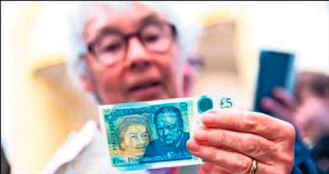 Churchill baskılı banknotlar tanıtıldı