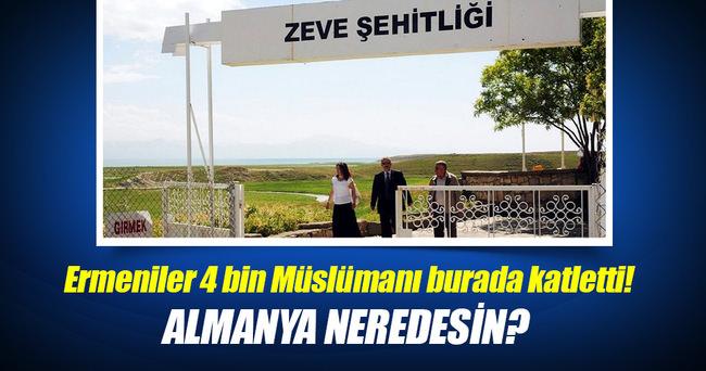 Ermeniler 4 bin Müslümanı burada katletti!