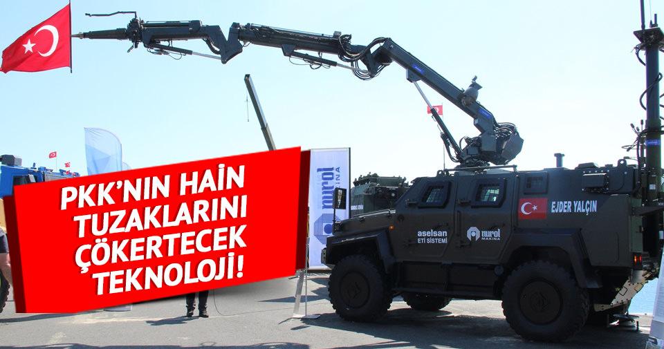 PKK'nın EYP'lerini imha edecek robot geliştirildi