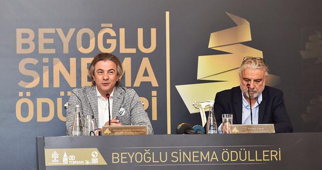 """""""Beyoğlu Sinema Ödülleri, Türk Sinemasına adanmıştır"""""""