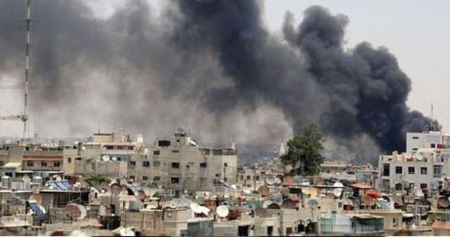Halep'e hava saldırısı: 8 ölü