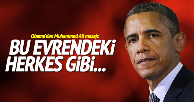 Obama'dan ''Muhammed Ali'' mesajı