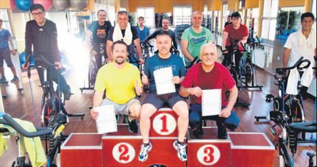 Kayseri'de Spinning Ligi heyecanı