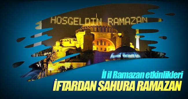 Etkinliklerle Ramazan