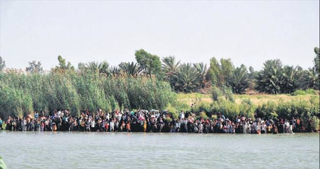 Felluce'den 12 bin kişi kaçtı