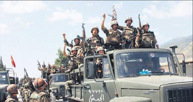 Suriye ordusu Rakka kapılarında