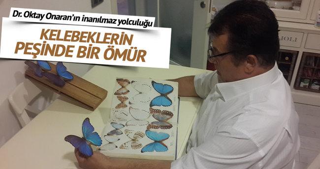 Kelebeklerin peşinde bir ömür