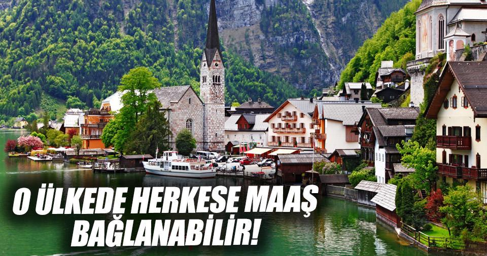 İsviçre'de herkese maaş bağlanması için referandum
