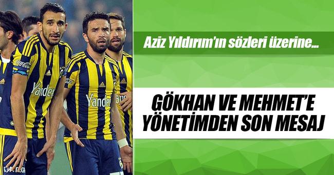Şekip Mosturoğlu'ndan Gökhan ve Mehmet'e mesaj!