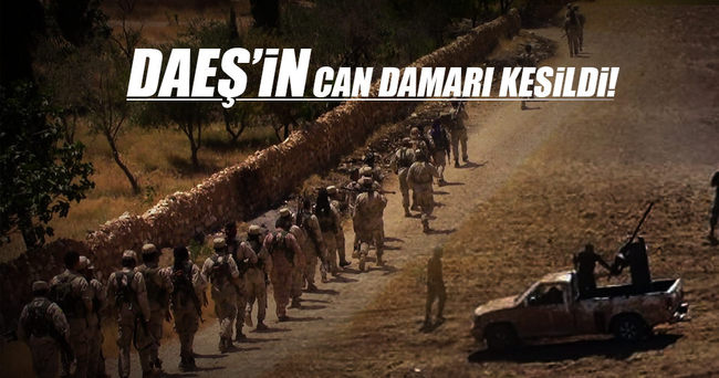 DAEŞ'in can damarı kesildi