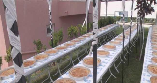 Silivri, Ramazan'a börekler açarak girdi