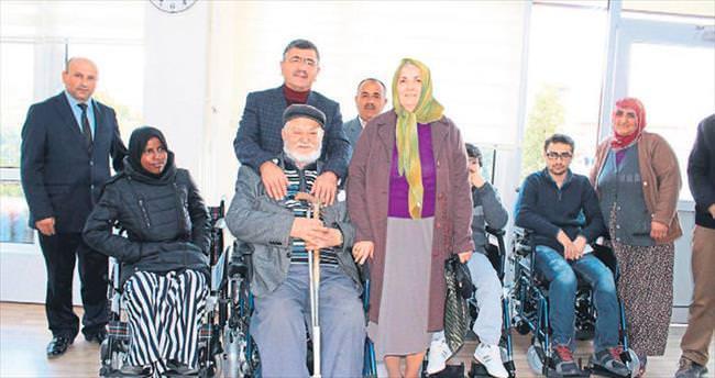 Niğde Belediyesi engellileri sevindirdi