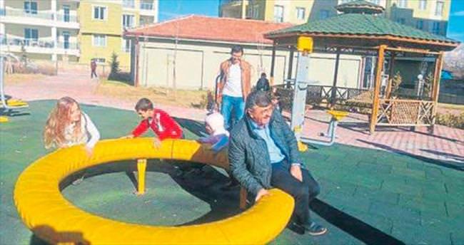 Tarihi motiflerle yeni nesil parklar
