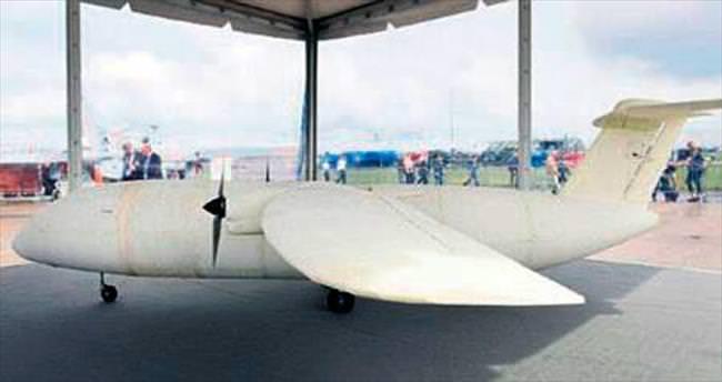 3D yazıcıdan insansız uçak