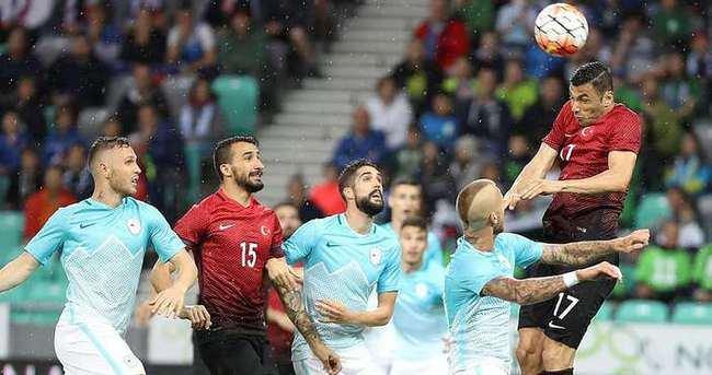 Slovenya - Türkiye maçı (Özet)