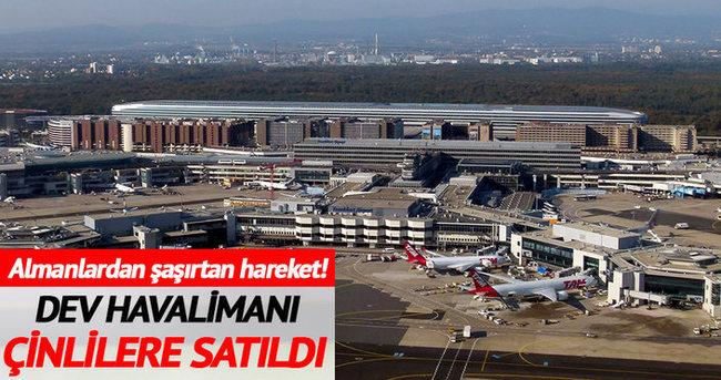 Alman havalimanı Çinlilere satıldı