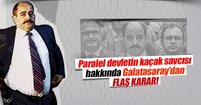 Zekeriya Öz, Galatasaray'dan ihraç edildi