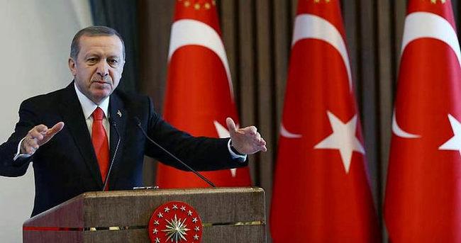 Cumhurbaşkanı Erdoğan'ın Tarabya Köşkü'nde sürpriz kabuller