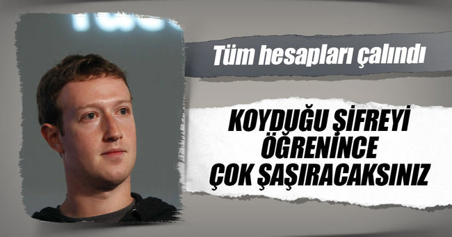 Facebook'un CEO'su Zuckerberg hack'lendi
