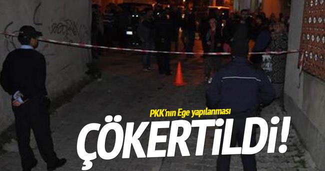 PKK'nın Ege yapılanması çökertildi!