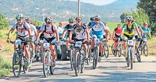 Çameli'nde dağ bisikleti maratonu