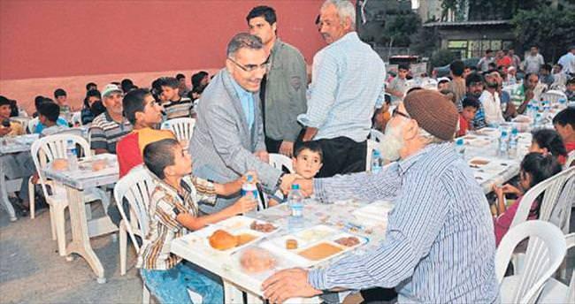 Yüreğir'de iftar programı başladı
