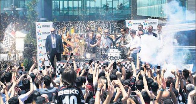 Beşiktaş'ın kupası Ankara turunda
