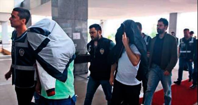 Edirne'de 19 şüpheli adliyeye sevk edildi