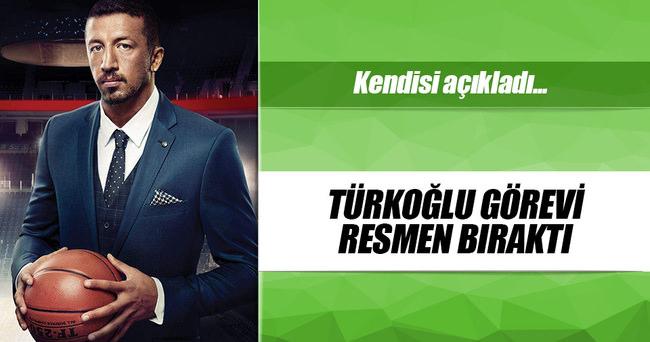 Hidayet Türkoğlu, TBF'deki görevinden ayrıldı